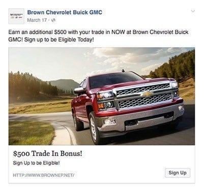 Instagram Car Sales Ads